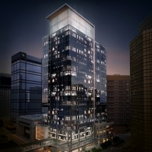 Kelly Ramsey Tower | Light Box Illuminating Top Two Storeys